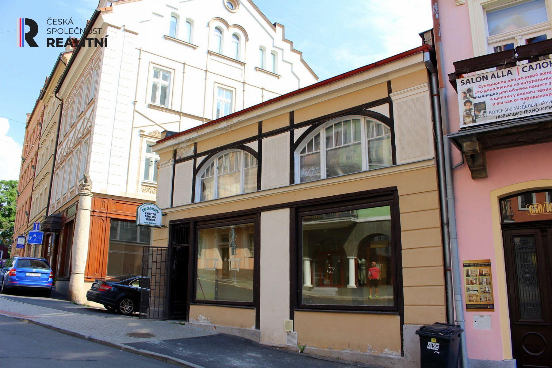 Pronájem obchodního prostoru Zámecký vrch Karlovy